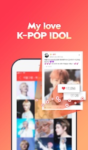 screenshot of Kpop Star \u2661 - Idol Ranking / Schedule version 6.8.7