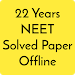 22 years Neet / Aipmt Solved Papers Offline