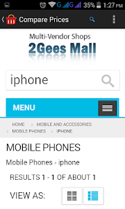screenshot of 2Gees Comparison version 2.14
