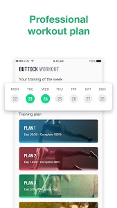 screenshot of 30 Days Buttocks Workout For Women, Legs Workout version 1.2.2