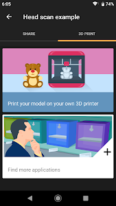 screenshot of 3D Creator version Varies with device