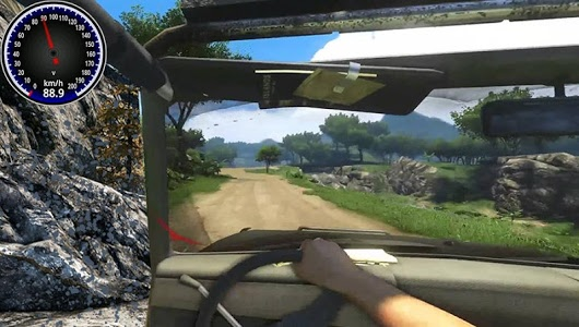 screenshot of 4x4 offroad Jeep skid racing 2018 version 1.18