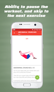 screenshot of Home Workouts - Fit Challenge version 1.0.8