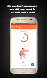 screenshot of Home Workouts - Fit Challenge version 2.1.0