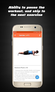 screenshot of Home Workouts - Fit Challenge version 4.0.0