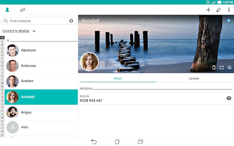 screenshot of ZenUI Dialer & Contacts version Varies with device