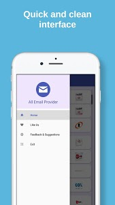 screenshot of All Email Providers in One version 2.7