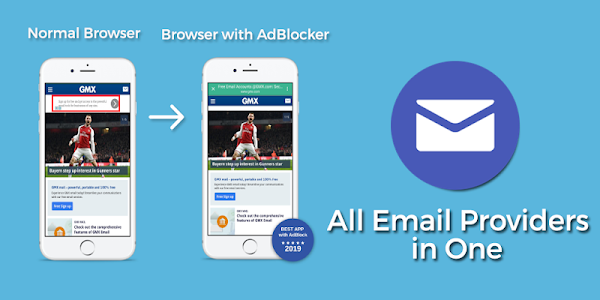 screenshot of All Email Providers in One version 2.20