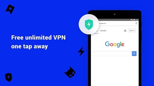 screenshot of Aloha Browser - private fast browser with free VPN version Varies with device