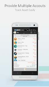 screenshot of AndroMoney ( Expense Track ) version 3.9.25