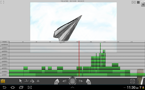 screenshot of Animation Studio version 1.1