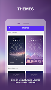 screenshot of App Locker Fingerprint & Password, Gallery Locker version 2.0.0