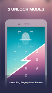 screenshot of App Locker Fingerprint & Password, Gallery Locker version 2.0.2