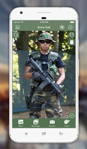screenshot of Army Suit Photo Editor version 3.2