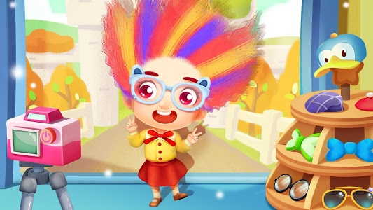screenshot of Baby Panda's Hair Salon version 8.31.00.00
