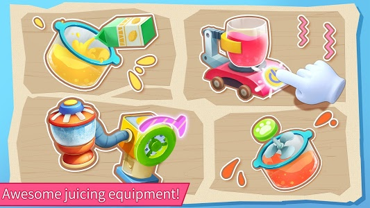 screenshot of Baby Panda's Juice Shop version 8.33.00.00