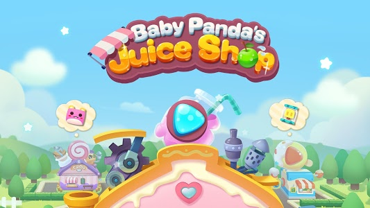 screenshot of Baby Panda's Summer: Juice Shop version 8.36.00.06