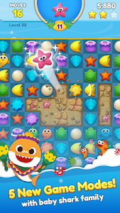 screenshot of Baby Shark Match: Ocean Jam version 1.0.7