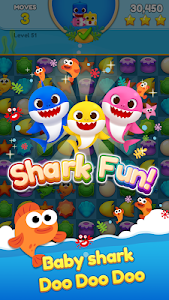 screenshot of Baby Shark Match: Ocean Jam version 1.2.7