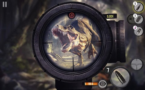 screenshot of Best Sniper Legacy: Dino Hunt & Shooter 3D version 1.07.4