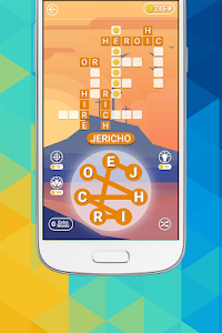 screenshot of Bible Word Connect - Free Crosswords Style Game version 1.02