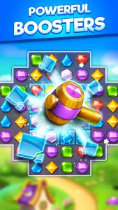 screenshot of Bling Crush - Jewels & Gems Match 3 Puzzle Game version 1.1.7