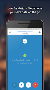 screenshot of BlueJeans for Android version 2.23.539
