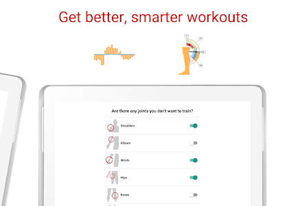 screenshot of BodBot Personal Trainer:Workout&FitnessCoach version 5.45