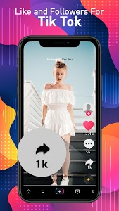 screenshot of Booster for TikTok - Followers & Likes Booster version 1.1