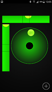 screenshot of Bubble Level Galaxy version 0.2