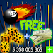 COINS and CASH For 8 Ball Pool prank