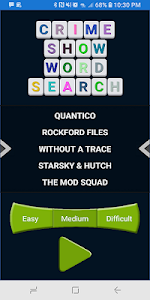 screenshot of CRIME SHOW WORD SEARCH version 1.0