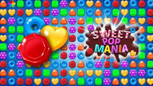 screenshot of Sweet POP Mania : Match 3 Puzzle version 1.6.4
