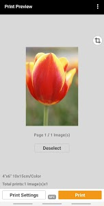 screenshot of Canon PRINT Inkjet/SELPHY version 2.6.0