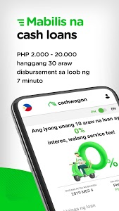 screenshot of Cashwagon - Online Credit Cash Loan App version 1.27.0