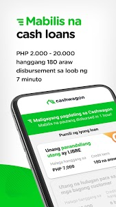 screenshot of Cashwagon - Online Credit Cash Loan App version 1.38.0