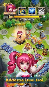 screenshot of Castle Clash: Squadre Valorose version 1.5.41