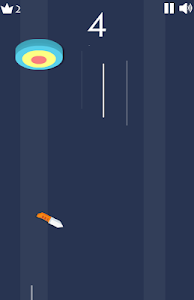 screenshot of Casual puzzle game flying knife master version 1.4