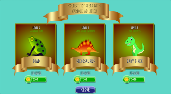 screenshot of Caveman: Running with Dinosaurs version 1.22