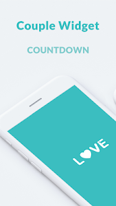 screenshot of Couple Widget - Love Events Countdown Widget version 1.00.20