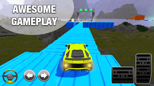 screenshot of Crazy Impossible Tracks - Ultimate Car Driving version 1.0