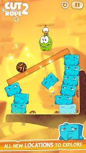 screenshot of Cut the Rope 2 version 1.15.2