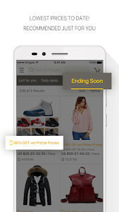 screenshot of DHgate-Online Wholesale Stores version 4.7.1