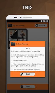 screenshot of DigDeep Image Recovery version Varies with device