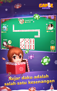 screenshot of Domino Gaple Online(Free)-Happy New Year 2019 version 2.7.2.0