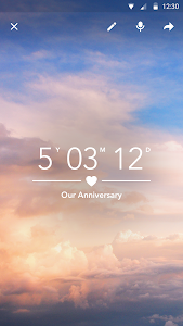 screenshot of Dreamdays Countdown Free version Varies with device