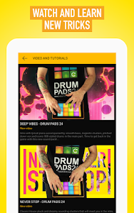 screenshot of Drum Pads 24 - Beats and Music version 2.4.2