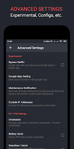 screenshot of EUT VPN - Easy Unlimited Tunneling version 1.3.12