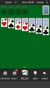screenshot of Easy Solitaire version 1.0.34