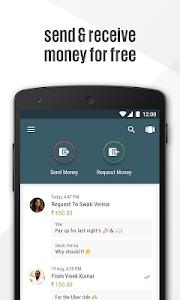 screenshot of Walnut Money Manager version 4.1.1